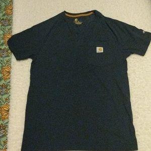 Carhartt Force Henley Short Sleeved Shirt